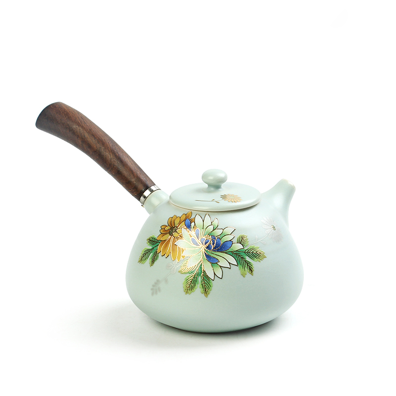 chinese ceramic kettle tea pot set