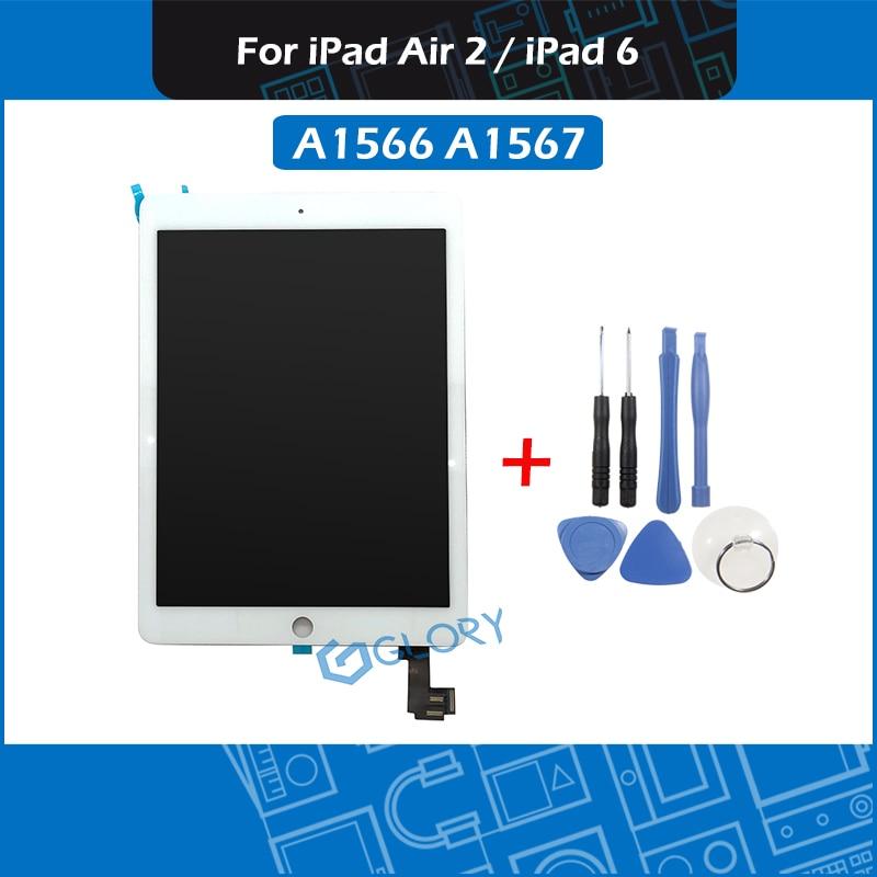 Pour iPad Air 2 A1566 A1567 LCD écran assemblée affichage écran tactile numériseur assemblée remplacement