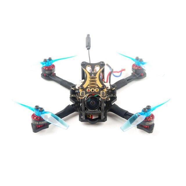 Eachine nowicjusz II 1-2S 2.5 Cal FPV Racing Drone RTF Fly więcej w/ WT8 2.4G nadajnik 5.8Ghz 40CH z VR009 gogle tryb 2