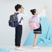 18L Children Alleviate excessive Burden Backpack Waterproof Fabric Shoulder School Bag Outdoor Travel romix rh30 18l foldable polyester outdoor backpack bag
