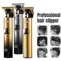 Professionelle Barber Haar Clipper Haar Entferner Männer Bart Barber 0MM Haar Schneiden Maschine Cordless Trimmer Rasierer Benzin Rasiermesser