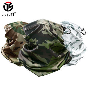 Military Bicycle Scarf Headband Bandana-Head Tube Multicam Face-Cover Neck-Warmer Camouflage
