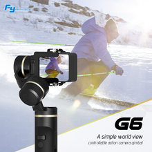FeiyuTech Feiyu G6 3 Axis Handheld Gimbal Stabilizer for Gopro 6 5 4 RX0 for Xiaomi yi 4k Wifi Blue Tooth Handheld Gimbal(China)