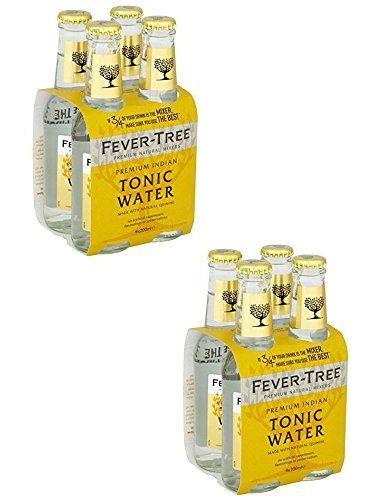 Fever Tree Tonic Water 2 X 4 X 0,2 Liter