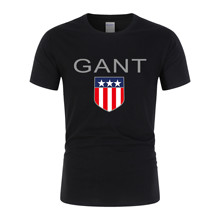 Summer Men's T-Shirt 2020 New Fashion Hot Sale T-Shirt Pure Cotton T-Shirt High Quality GANT Print Short Sleeve 100% Size S-2XL