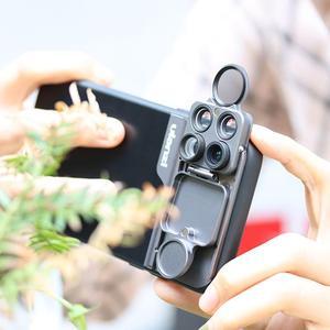 Image 2 - Ulanzi U 렌즈 5 in 1 전화 렌즈 케이스 키트 iPhone 11 Pro 최대 20X 슈퍼 매크로 렌즈 CPL 어안 망원 렌즈 iPhone 11 Pro