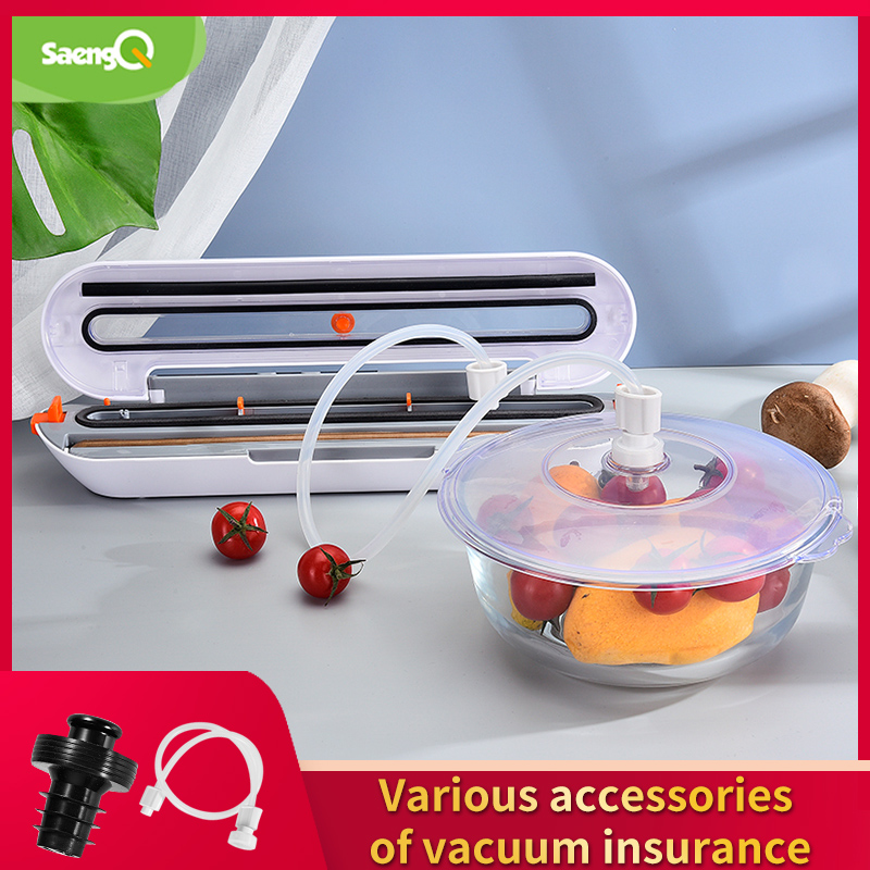 SaengQ Electric Food Vacuum Sealer Machine Accessories Wine Corks Vacuum Container Large Capacity Food Storage Vacuum Sealer