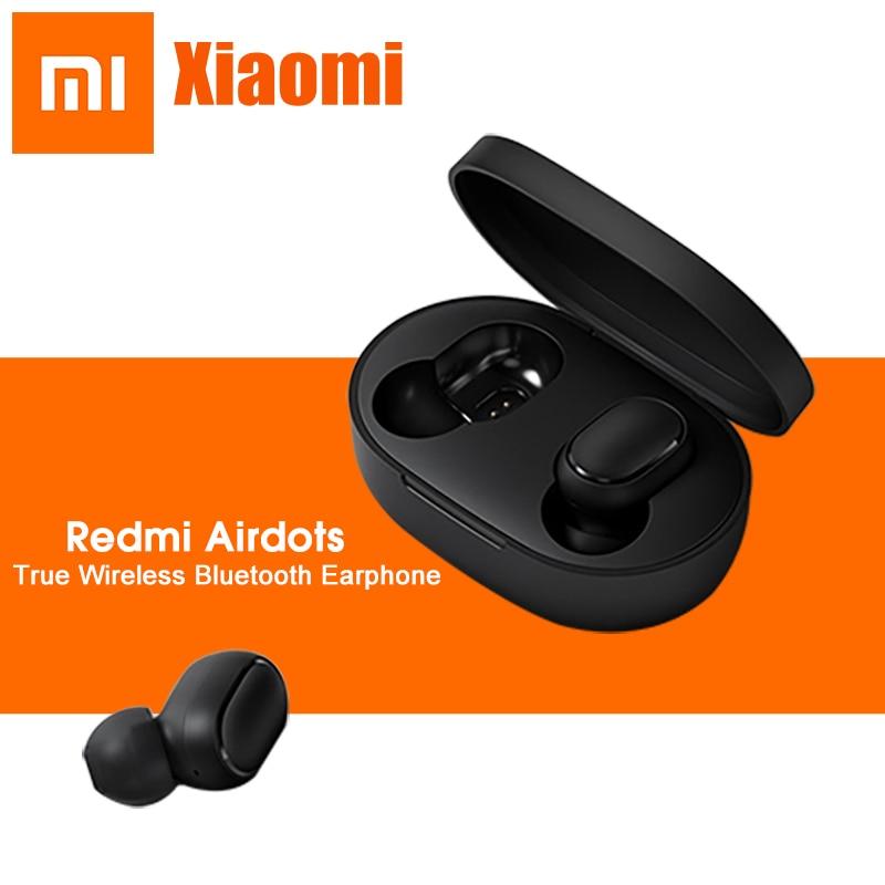 Original Xiaomi Redmi AirDots True Wireless TWS 5.0 Bluetooth Earphone With Mic AI Control DPS Active Noise Cancel Mini Earbuds