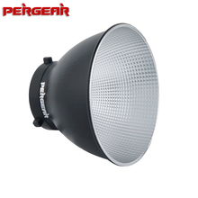 """Pergear 7"""" Standard Bowens Mount Round Reflector Diffuser Lamp Shade for Godox SL60W AD600 Pro MS300 MS200 Aputure 120DII 300DII"""