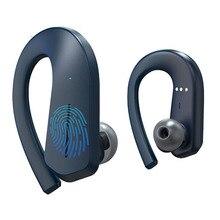 GGMM T1 Bluetooth наушники с полной панелью сенсорного управления, TWS 36H Play Беспроводные наушники с поддержкой AAC IPX7 водонепроницаемый 9D спортивные TWS
