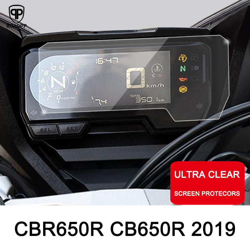 ROAOPP Motorcycle Cluster Scratch Protection Film Screen Protector Instrument for HONDA CBR650R CB650R 2019