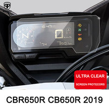 ROAOPP Motorcycle Cluster Scratch Protection Film Cluster Screen Protector Instrument Film for HONDA CBR650R CB650R 2019 cluster