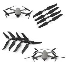 4 sztuk z włókna węglowego składany Quick release 8743 śmigła dla DJI Mavic 2 Pro Zoom Drone redukcja szumów rekwizyty ostrza śmigła