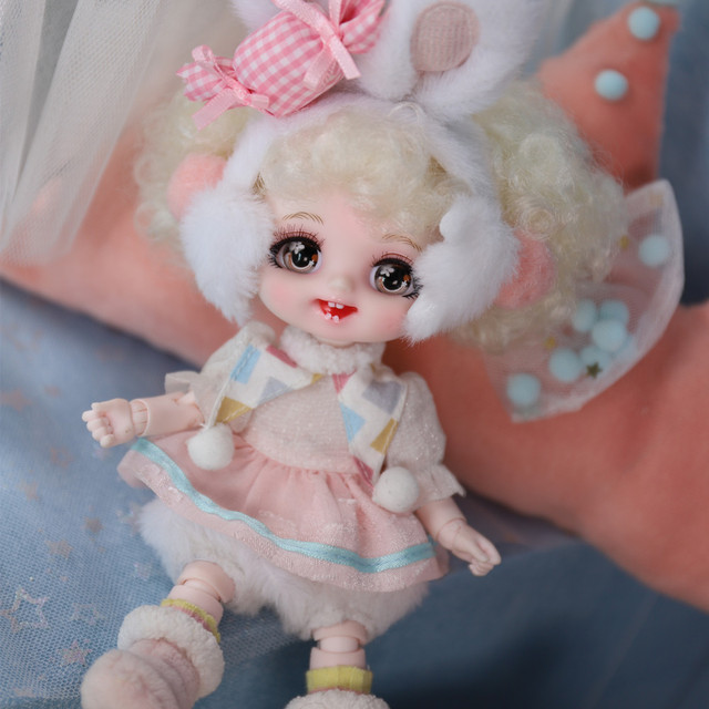 DBS DREAM FAIRY Doll 1/8 BJD anime girls Name by Pokect mechanical joint Body With makeup ob11 SD 4