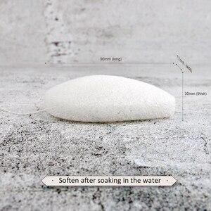Image 4 - 5 renkler Konjac süngeri kozmetik puf yüz temizleme sünger doğal Konjac puf yüz temizleyici aracı yıkama çarpıntı