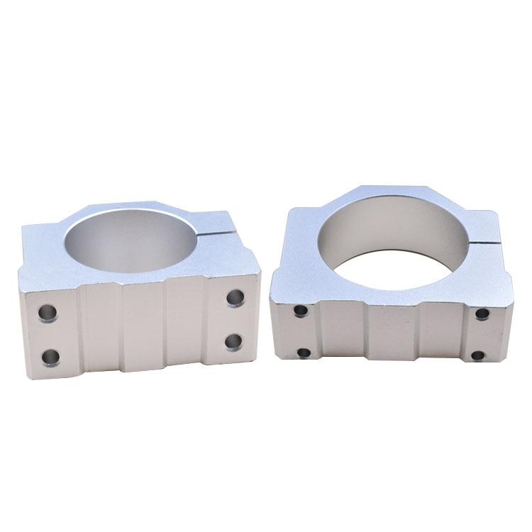 Engraving Machine Accessories, Aluminum Alloy Spindle Motor Base Fixture Fixture Fixture Support,45mm--80mm