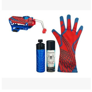 Image 2 - Spider man คอสเพลย์ mega blaster ถุงมือ Launchers PVC Action Figure Collection รุ่น Toy (Spider Shot Web ของเหลวไม่มีกล่อง)