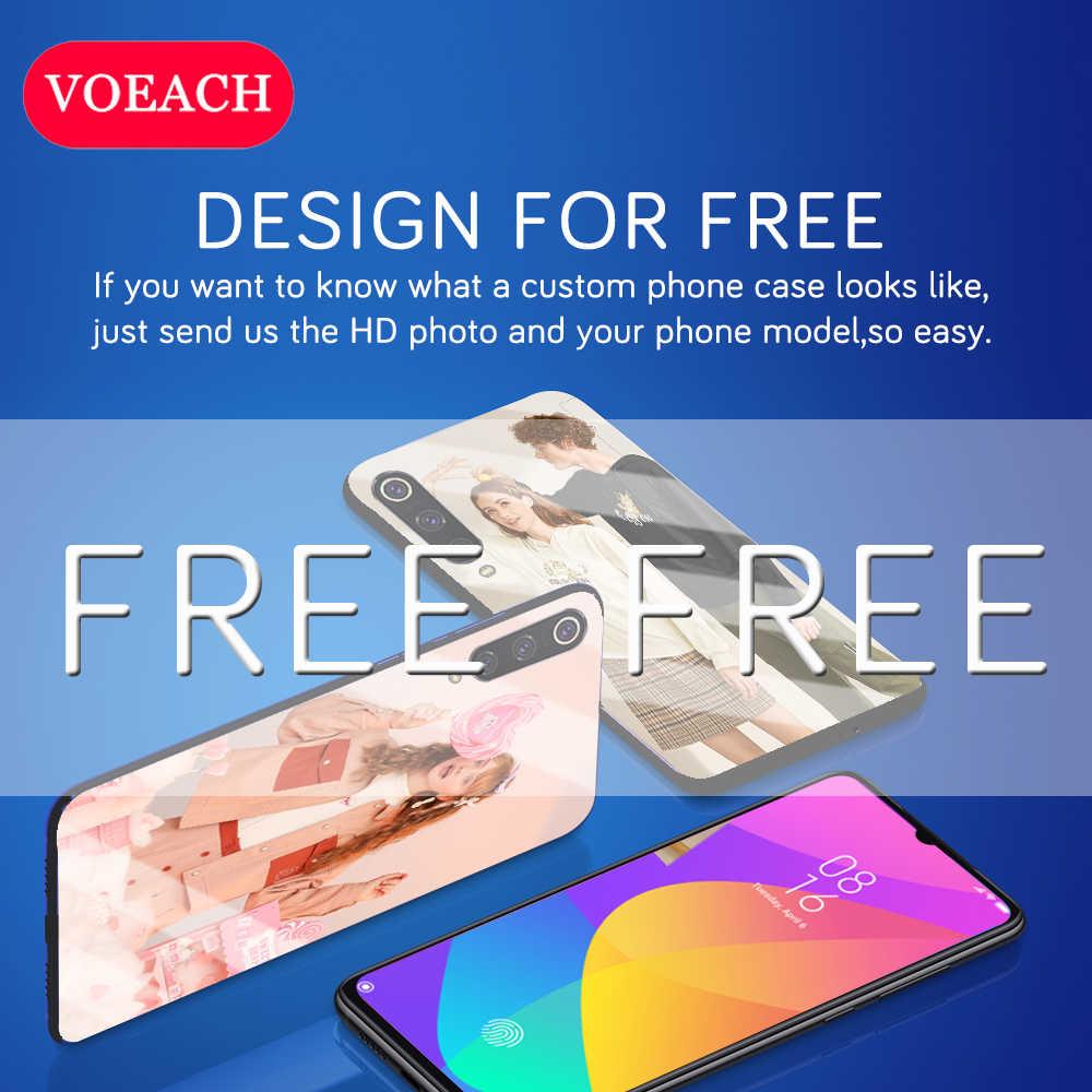 Coque de téléphone en verre trempé pour Huawei P30 P20 Pro Lite Mate 30 pro Y9 P smart Plus 2019 Nova 4E 5i Honor 10i 20i 8X housse personnalisée