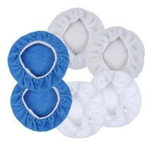 6 шт., полировальные насадки из микрофибры, 5-6 дюймов 7-8 дюймов 9-10 дюймов