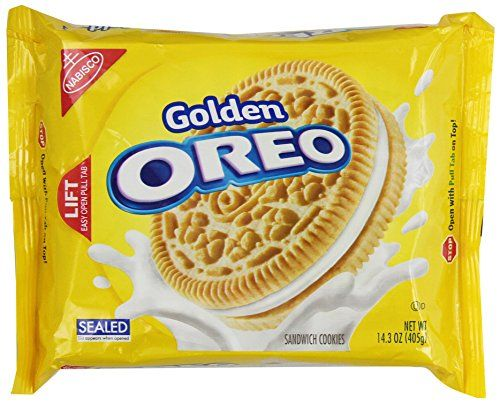 Oreo Golden Sandwich Cookies, 14.3 Ounce By Oreo [Foods]