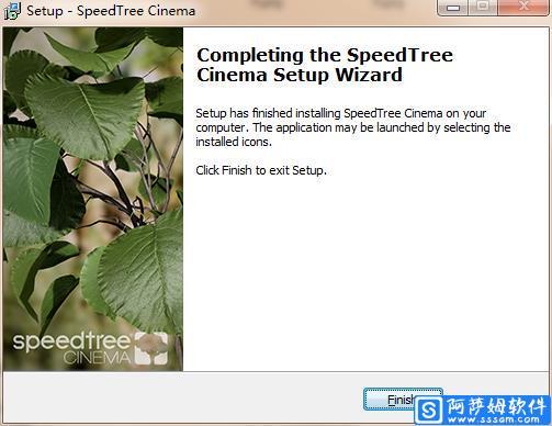 Speedtree Cinema v8.1.5 三维树木建模软件免费版