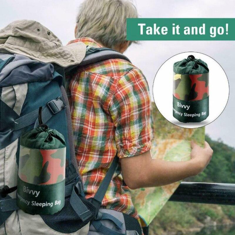 Купить с кэшбэком Sleeping Bag Outdoor Accessories Camping Travel Hiking Portable Practical Sleeping Bags Emergency