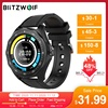 BlitzWolf Official Store BW-HL3 Smart Watch Heart Rate Blood Pressure Monitor Fitness Track Sport 2020 Smartwatch For Men Women