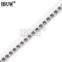 10 pçs 3*3 trimpot smd 3x3 ajustável resistor variável da resistência do potenciômetro do aparador 100 500 1k 2k 5k 10k 20k 50k 100k 1m ohm