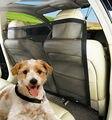 Автомобильный изолирующая сетка собака защитное ограждение Регулируемый Безопасность Путешествия собака подголовник из сетчатого матери...