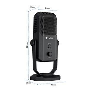 Image 5 - Профессиональный USB микрофон для студийной записи, конденсаторный микрофон с четырьмя направлениями для игрового вещания, микрофон для караоке