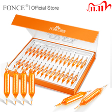 Fonce Red Needle Blood Orange Vc Essence Face Serum 30 Pcs Nicotinamide Liquid Stay Up Late Ampoule Stock Solution No injection