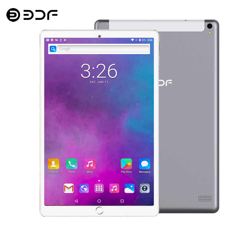 10.1 Inch Tablet Android 7.0 3G/4G Telefoontje 6Gb + 64Gb Octa Core Wi-bluetooth 4.0 Dual Sim Ondersteuning Tablet Pc + Toetsenbord