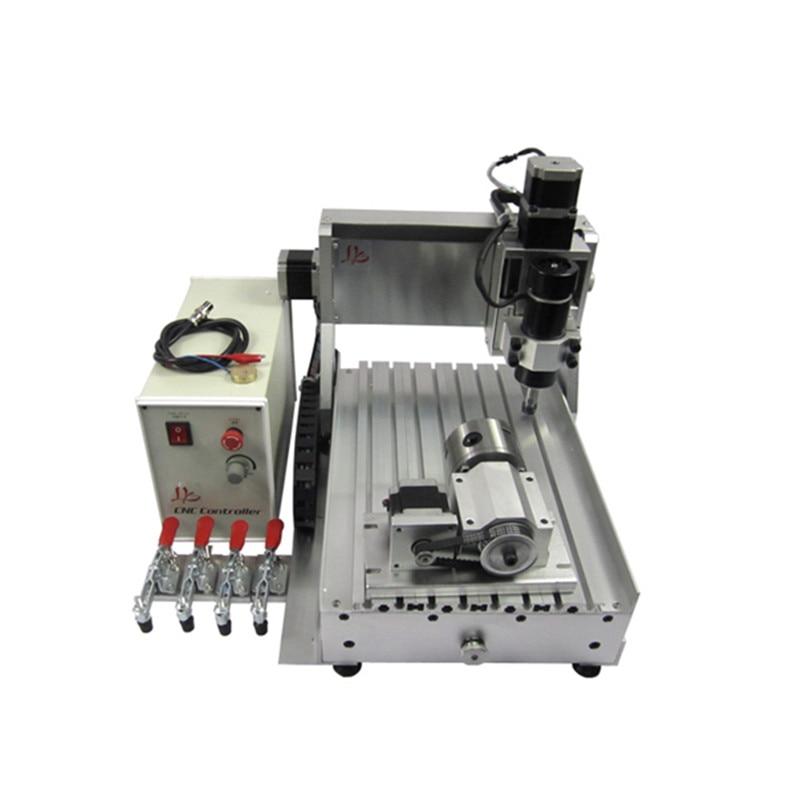 Russie pas de taxe 3020 500w 3 axes LPT CNC routeur mini fraisage gravure graveur machine pour le travail du bois passe-temps