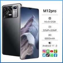 Крепление для спортивной камеры Xiao M12 Pro глобальная версия, док-станция Qualcomm 888 16 Гб 512GB6800mAh 5G 6,7 дюймов мобильный телефон 10-ядерный мобильного ...