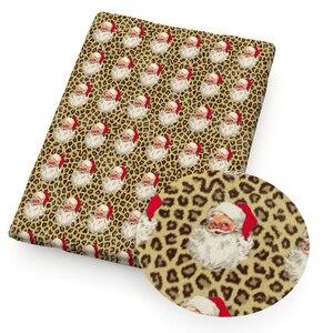 С Новым Годом Рождественская елка олень 100% хлопчатобумажная ткань для тканей детский домашний текстиль шитье квилтинг для шитья кукла тильда, c13785|Ткань|   | АлиЭкспресс