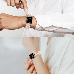 Image 5 - For Apple Watch Strap Series 5 4 3 2 1 40mm 44mm 38mm 42mm Women Men Zinc Alloy Band Iwatch metal Replacement Strap