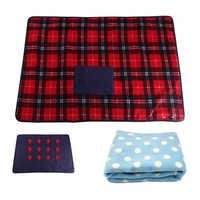 Elektrische Decke USB 5V Beheizte Decke mit Kleine Tasche, 8x65cm Sicherheit Winter Warme Heizung Teppich für Home Baby Auto Büro