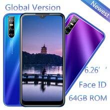 Quad Core A71 Face ID Unlocked 13MP Smartphones 6.26