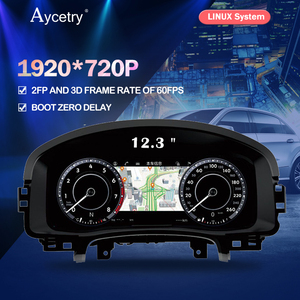 For Volkswagen VW Golf 7 Golf7 MK7 GTI car Instrument Panel Replacement Dashboard Entertainment Intelligent Multimedia System FM(China)