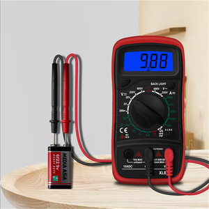 Hot XL830L Handheld Digital Multimeter LCD Backlight Portable AC/DC Ammeter Voltmeter Ohm Voltage Tester Meter Multimetro(China)