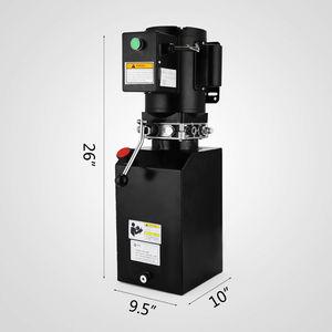 Image 2 - Pack unité hydraulique pour voiture élévatrice, 14l (220V), 60hz, 1 ph,2950 PSI, réparation automobile