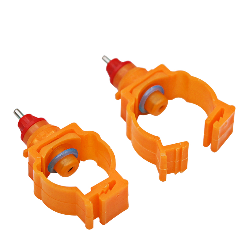 20 Pcs Chicken With Nipple Drinkers Automatic Water Chicken Spring Bayonet Drinking Chicken Specialized Equipment
