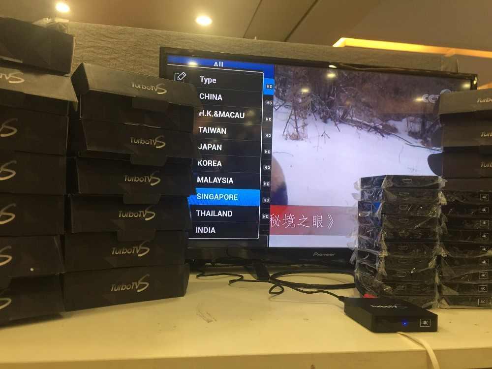 2019 nowy singapur Starhub z włókna Turbo telewizor z dostępem do kanałów IPTV box wolnego życia chiny HK TW singapur malezja Korea Indian tajlandia japonia kanał