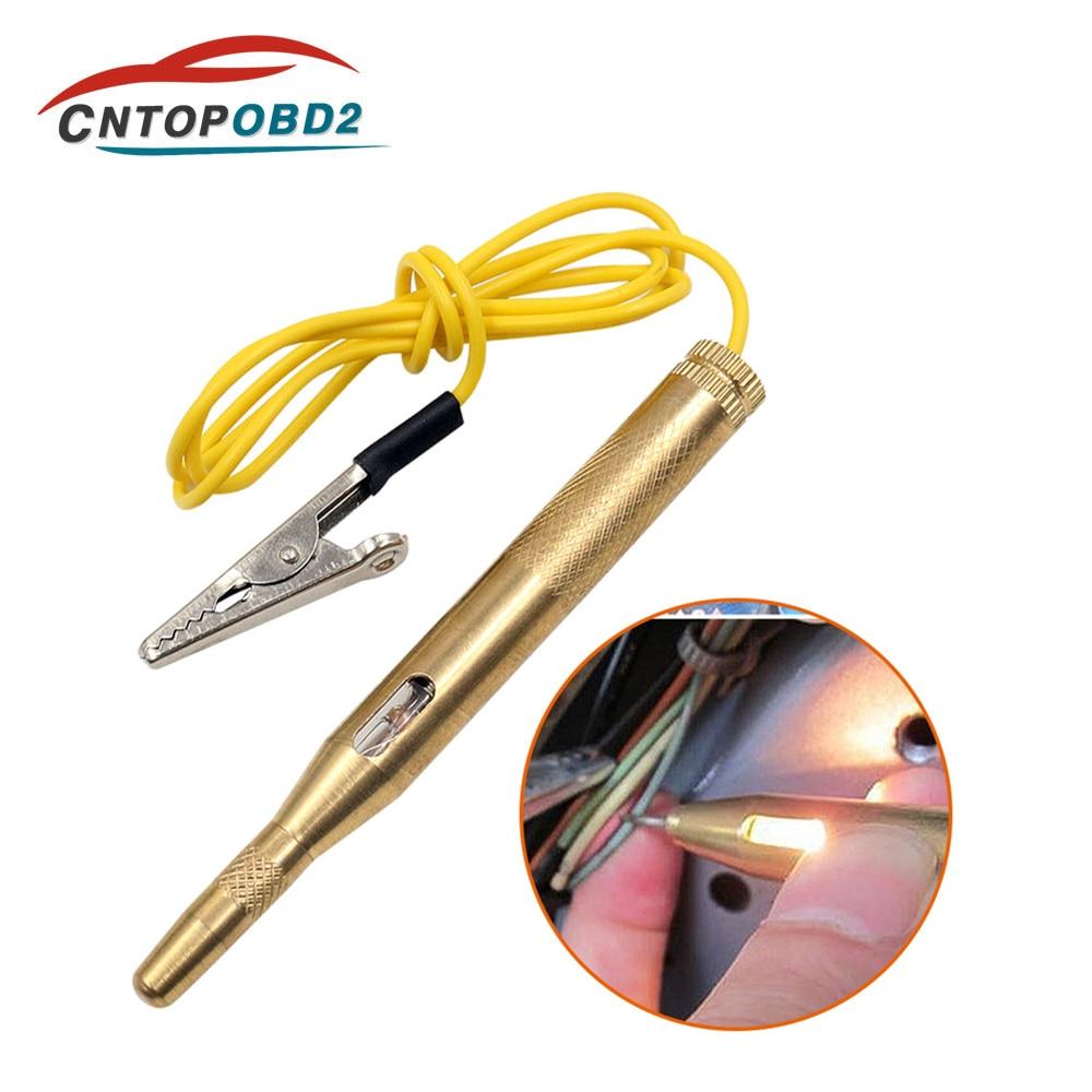 Auto Electrical Wire Circuit Tester 6V 12V 24V Car Voltage Test Probe Pen