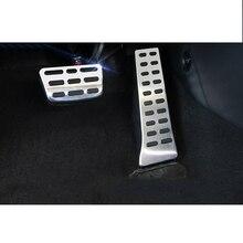 Lsrtw2017 Rubber Car Accelerator Brake Pedal Trims for Kia K3 Cerato Interior Mouldings Accessories