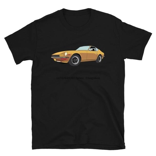 Datsun 240z camisa fairlady nismo jdm carro japonês 260z nissan 280z turbo decalque