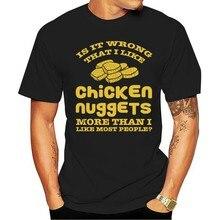 Camiseta eu gosto de frango nuggets mais do que eu gosto mos legal gravado 2021