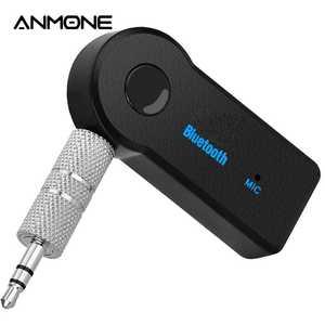 Bluetooth Adapter Speaker Usb-5.0-Converter Music Wireless Audio Car ANMONE Aux-Port