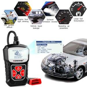 Image 5 - KW310 Obd2 자동차 스캐너 자동차 스캐너 엔진 분석기 자동차 도구 Obd 2 진단 도구 코드 리더 Elm327 V1.5 보다 나은
