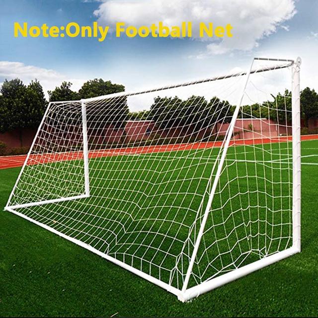 Filet de but de Football, filet d'entraînement Durable, maille de poteau d'entraînement pour Football, Match Junior Sports de plein air, pratique du Fitness 4